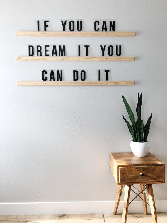 Citation « if you can dream it, you can do it ». Représentant l'activité de coach de vie professionnelle de Fabienne Bister